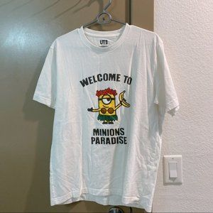 uniqlo minions tee like new hong